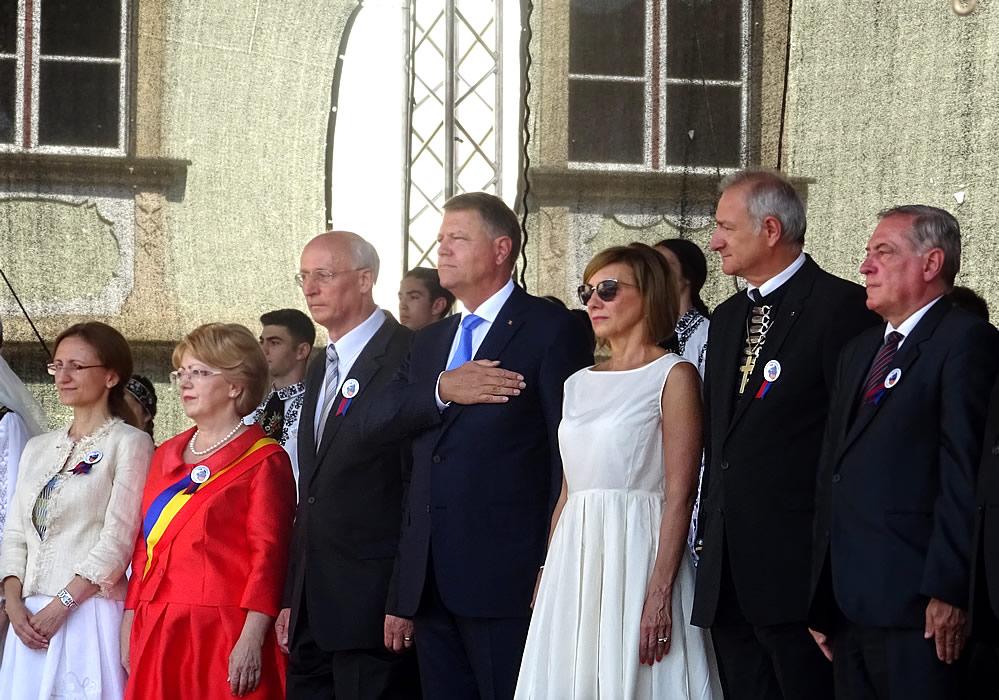 Președintele României Klaus Iohannis la Intâlnirea Sașilor de la Sibiu