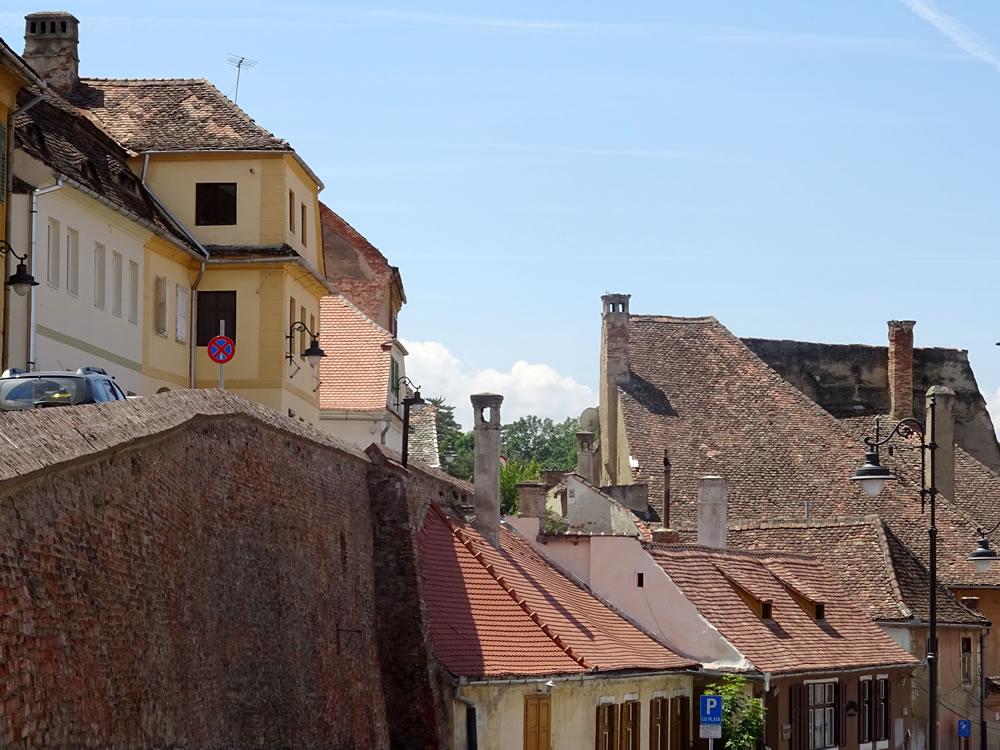 Vedere spre strada Centumvirilor