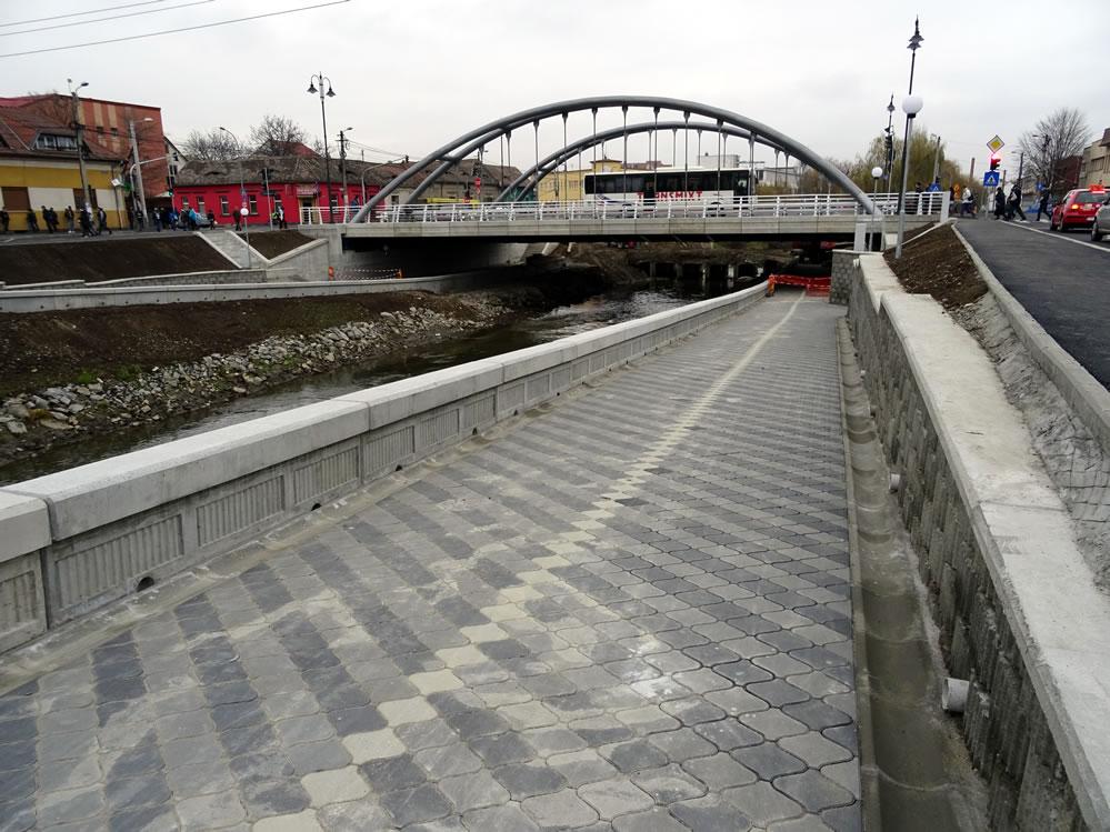 Noul pod peste Cibin