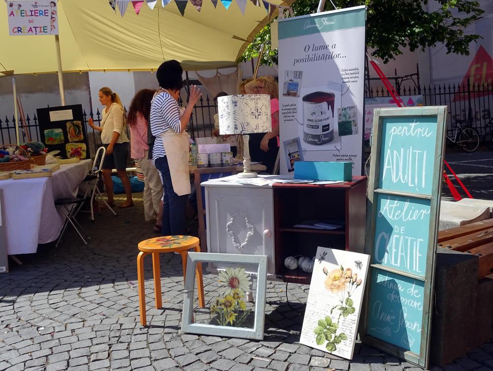 Festivalul Creative Buzz in Piata Huet