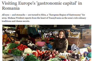 Visiting Europe's 'gastronomic capital' in Romania