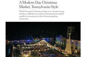 A Modern-Day Christmas Market, Transylvania-Style